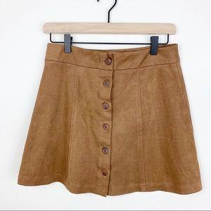 Dresses & Skirts - Flowy brown skirt